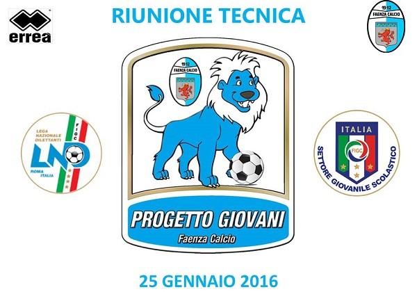 RIUNIONE TECNICA GENNAIO 2016