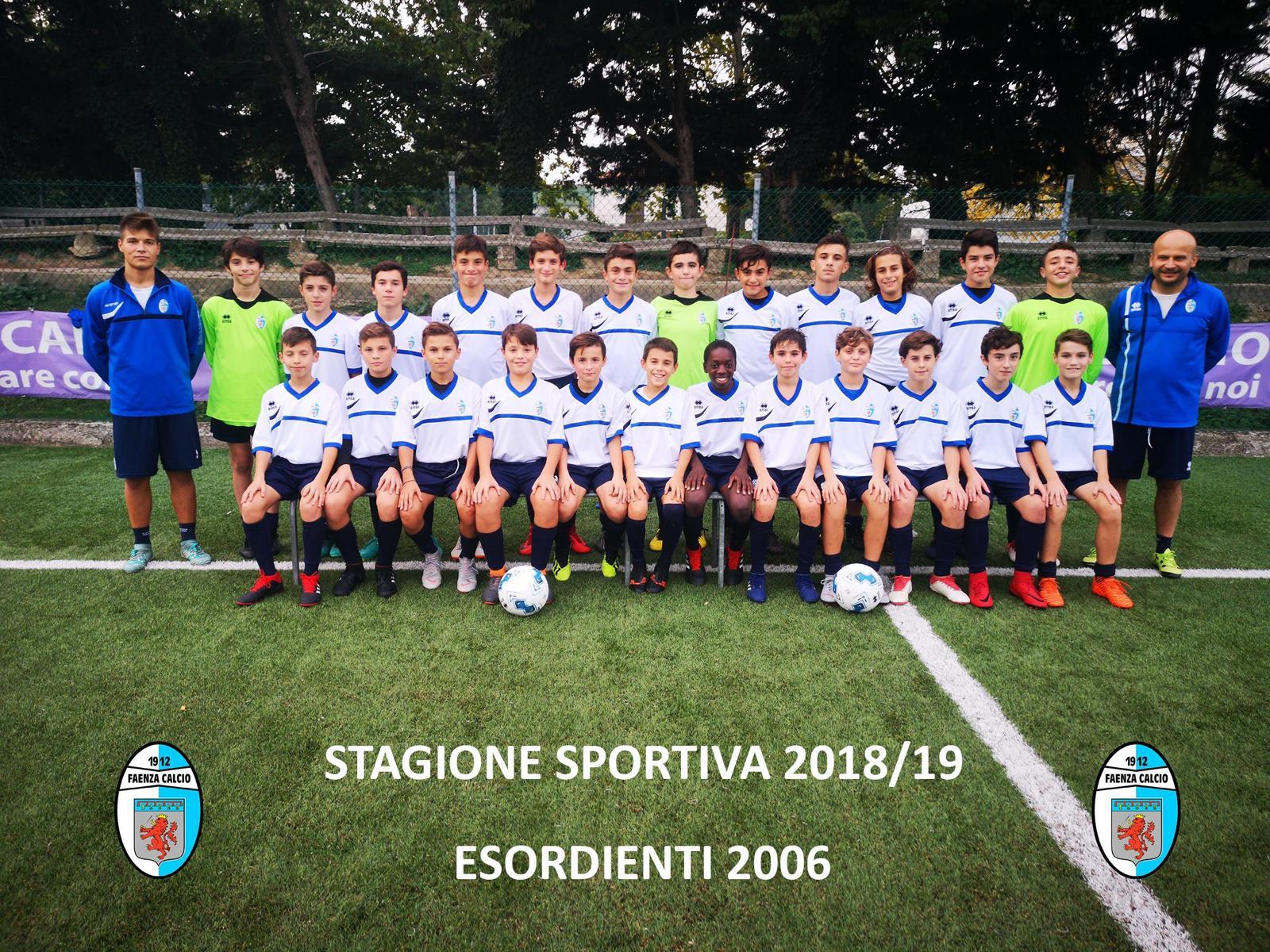 Calendario Pulcini 2006.Faenza Calcio Sito Ufficiale