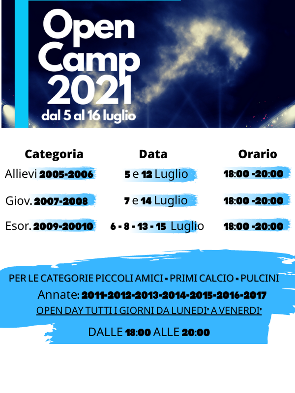 #OPENCAMP2021