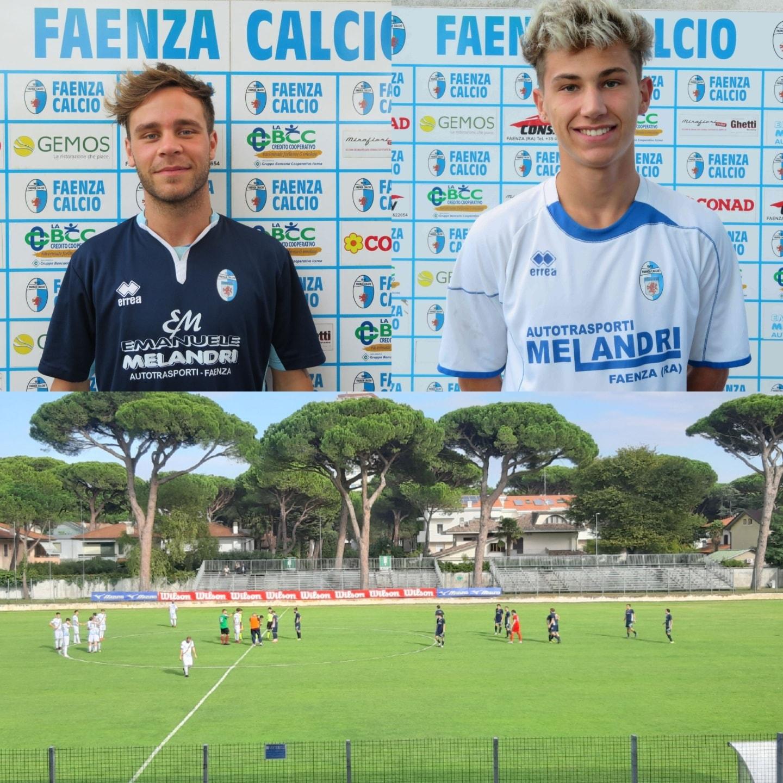 Il Faenza espugna Cervia con due gol.